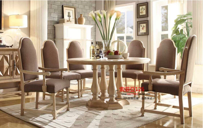 french country style dining table round wood coffee table restaurants