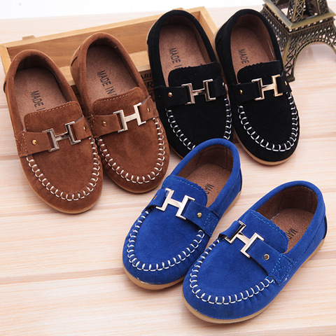 2015 New Autumn boy children shoes single PU leather shoes boys moccasin loafers shoes SIZE EURO 21-30 Kids Sneakers <br><br>Aliexpress