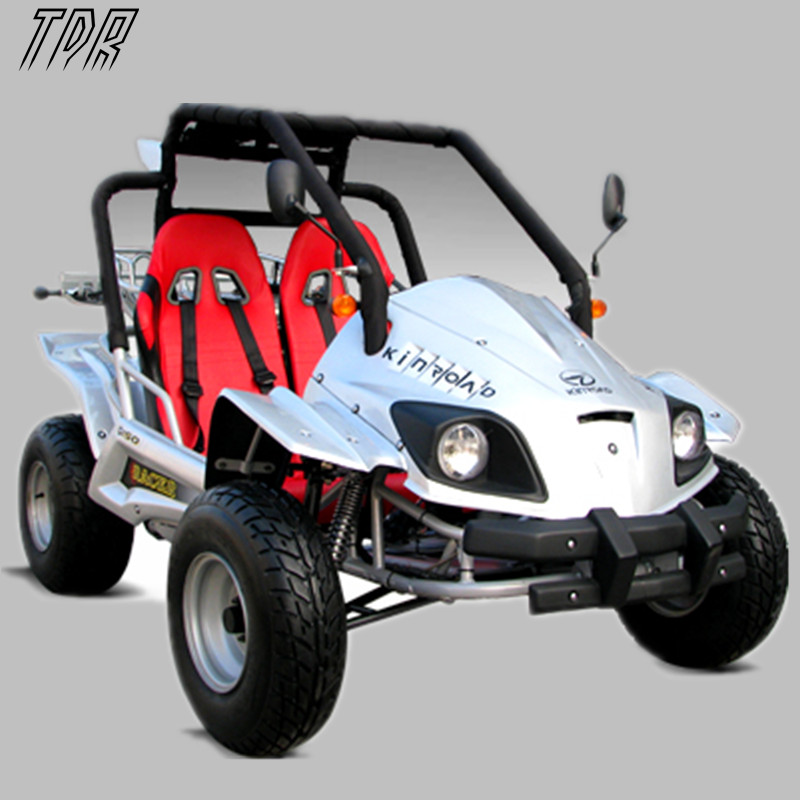 USA on Sale Racer Double Seat Electric Go Kart 150cc Double Chain Drive Electric Hand+Foot SUV ATV Kart HHY(China (Mainland))