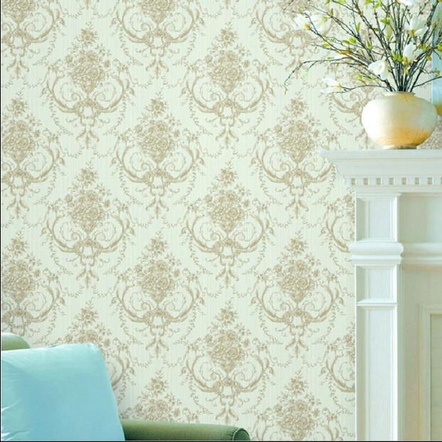 acheter nouvel clairage classique vert non tiss th caf fleurs de couleur mur. Black Bedroom Furniture Sets. Home Design Ideas