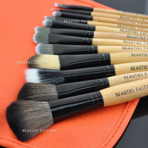 Beauties Factory 12pcs Tomato Makeup Brushes Set<br><br>Aliexpress