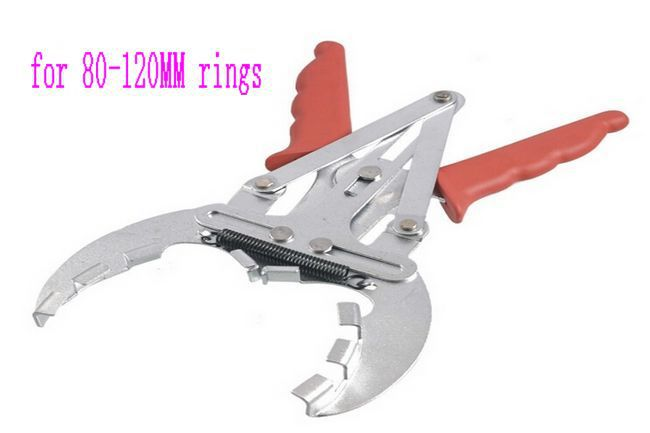 SunRed high quality 80-120MM Piston Grip Ring Pliers Engine Pistons expander Remover auto tools NO.XT1185 freeshipping(China (Mainland))