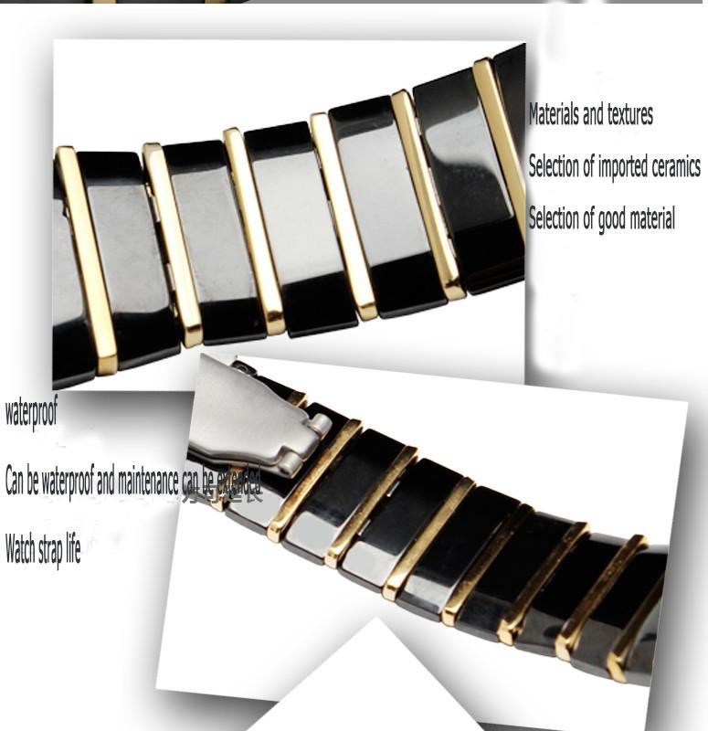 Лао pijiang применение керамический ремешок для часов радар нью-синтра серебро дрель серии часы аксессуары 26 мм мужской