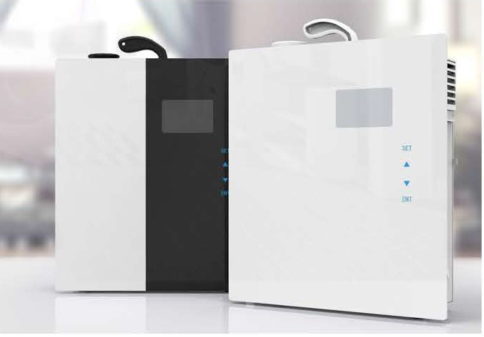 free shipping 0 noise electric scent machine for stores touchscreen control system industrial aroma diffuser for hotel room(China (Mainland))
