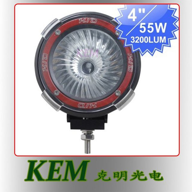 "Free shipping !!! Top quality 12V 55W 4"" H3 HID Drving Lamp HID Working Light for truck"