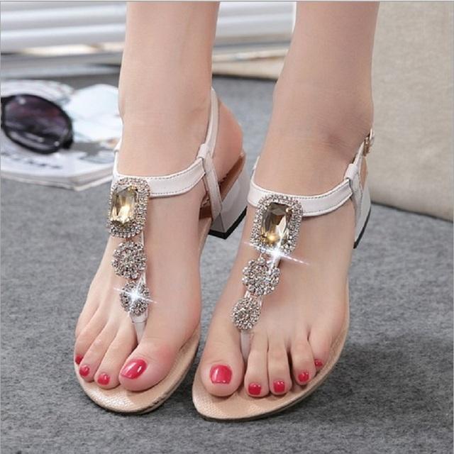 2016 лето новинка женские туфли на высоком каблуке сандалии алмаз сексуальная женщина ...