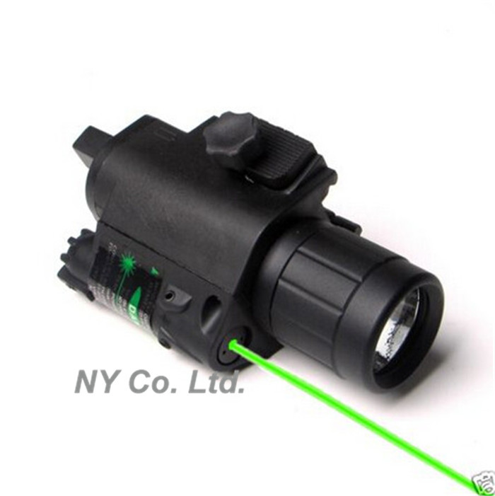 Laser Flashlight Combo For Rifle Laser Flashlight Combo For