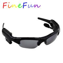 FineFun Smart Sunglasses DVR KL-338D Mini DV Audio Video Recorder Camcorders Video Camara MP3 Player earphones Support TF Card(China (Mainland))