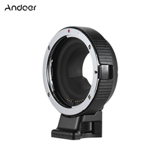 Buy Andoer EF-MF Electronic Lens Mount Adapter Ring Auto Exposure EF/EF-S lens M4/3 camera Canon-M5 Panasonic LUMIX for $79.37 in AliExpress store