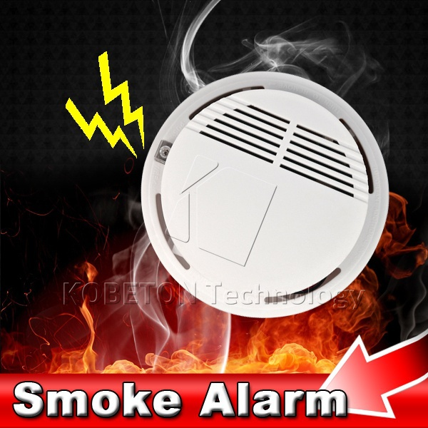 2015 HOT Sensitive Photoelectric Home Security System Cordless Wireless Smoke Detector Fire Alarm with no Battery(China (Mainland))
