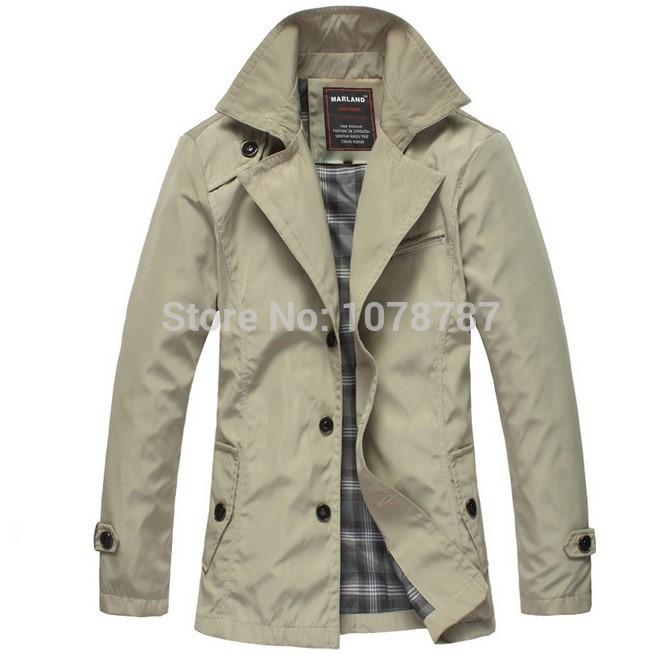 Long Section 2015 Brand Spring Fall Formal Jackets Men's Work Jacket Coats Outerwear Fashion Casual Men Slim Waterproof Jacket(China (Mainland))