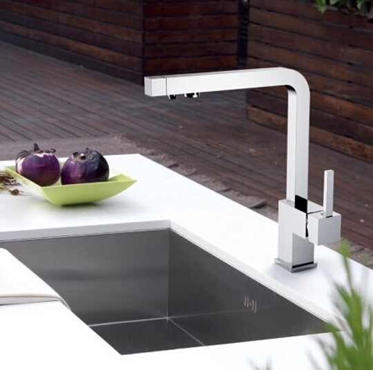 2015 water clean kitchen faucet 3 in 1 tap kitchen mixer