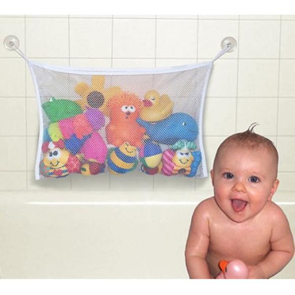 1Pc White Great Hanging Toy Hammock Net Kids Baby Animal Storage Bag Organizer(China (Mainland))