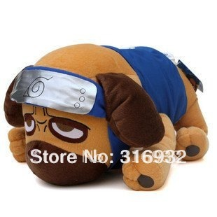 J1 Naruto Hatake Kakashi akamaru Dog Plush Toy  40cm*30cm, 1pc
