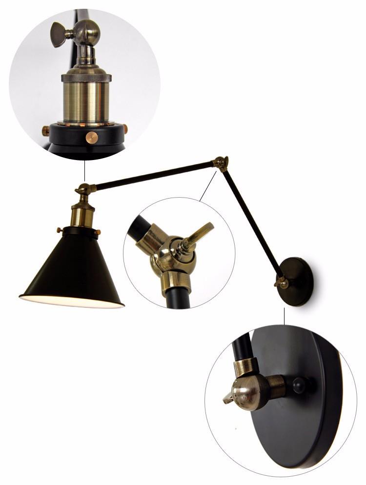 Wall hang lamps (3)