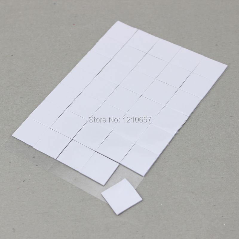 300PCS lot 15 x 15 x 1mm IC Chip Xbox PS PC VGA Chipset Silicone White Pad Thermal(China (Mainland))