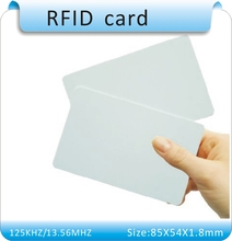 10860-960 MHZ UHF RFID IC card/ ISO18000-6C/ rewrite/ 85X54mm - HeHeng-RFID store