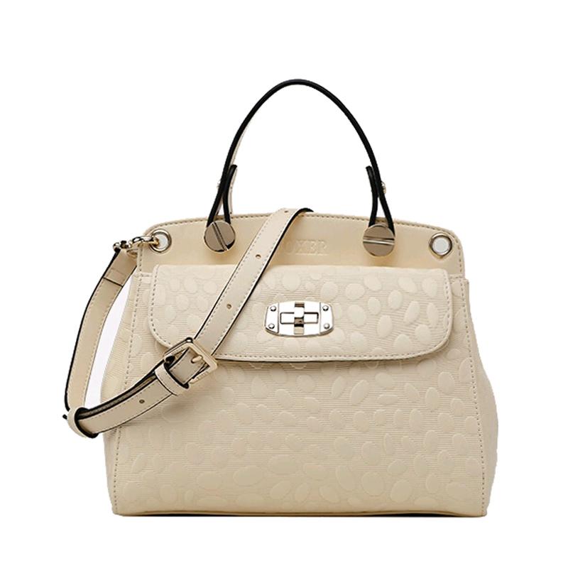 Фотография 2015 Hot Sell Famous Brand Women Bag Foxer Genuine Leather Fashion Women Handbags Women Geometric Zipper Messenger Bags