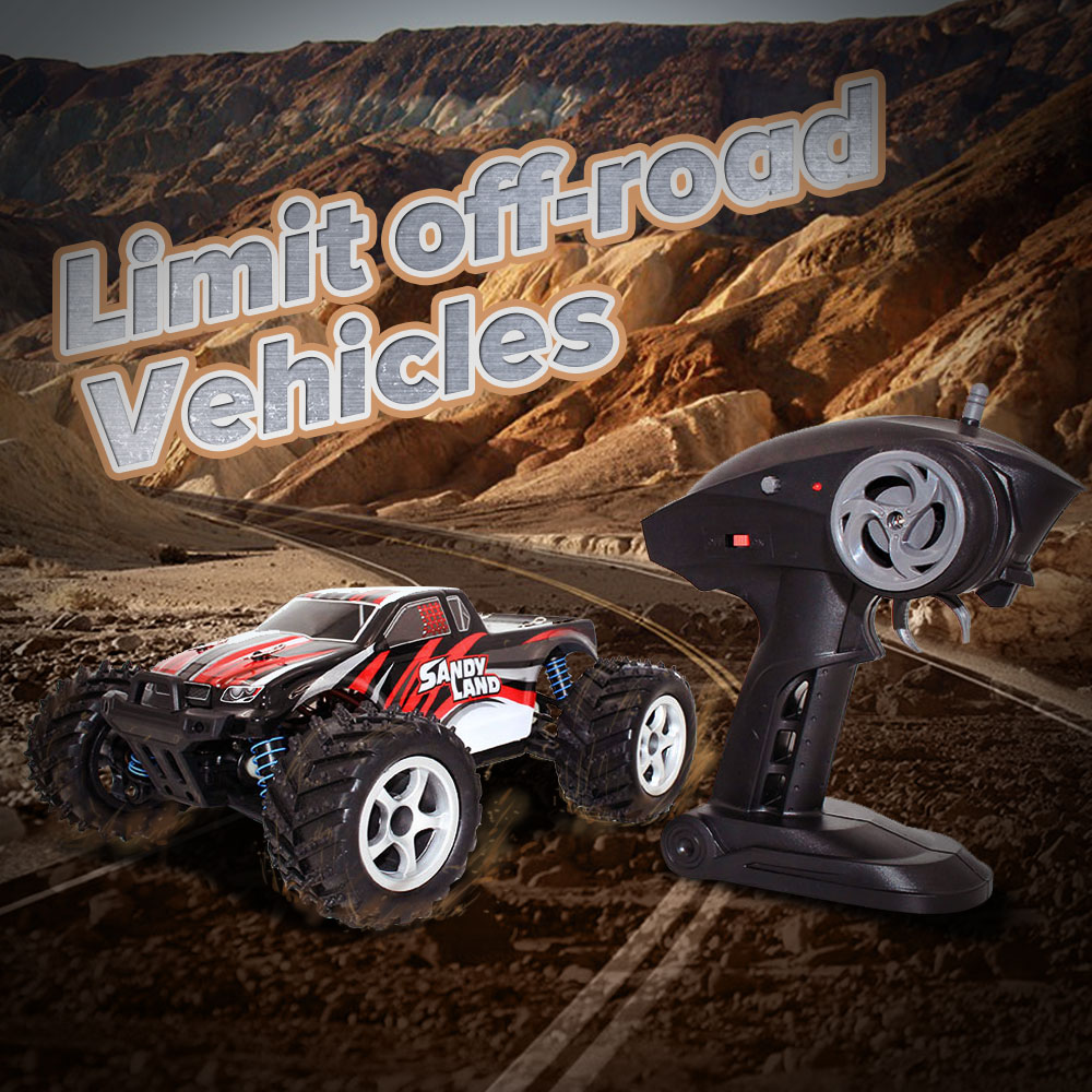 Фотография 1:18 2.4Ghz Radio Remote Control Rechargeable Off-Road RC Car Vehicle Truck 9300