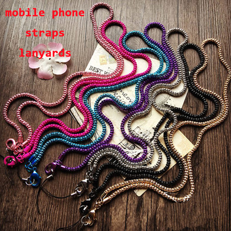 mobile phone straps lanyard accessories Lobster Clasp neck lanyards for keys id cards sports lanyards badge holder free shipping(China (Mainland))