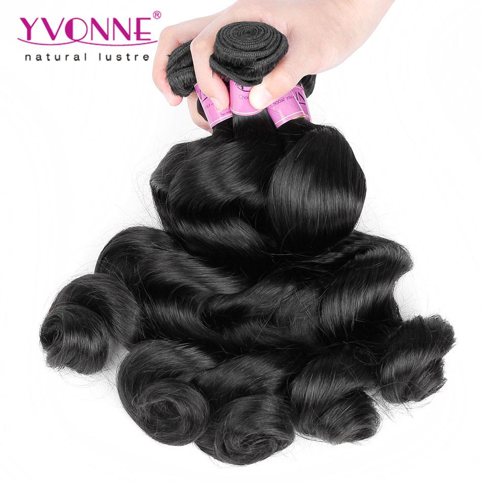 New Fashion Loose Wave Peruvian Hair,3Pcs/lot Unprocessed Virgin Human Hair Weave,12-28 Inches Aliexpress Yvonne Hair(China (Mainland))