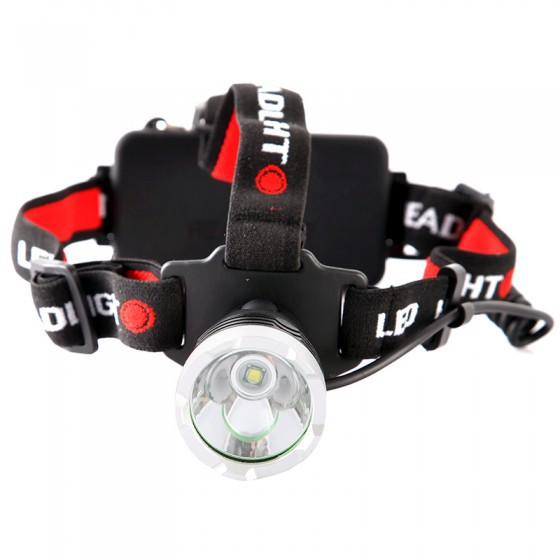 CREE T6 LED Rechargeable Headlamp Aluminum Alloy 4 Switch Modes 2000LM Headlight Hunting Camping Lamp Light<br><br>Aliexpress