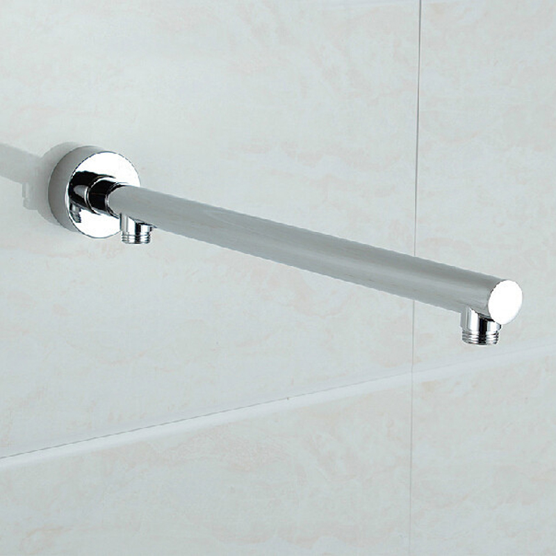 Newly Free Shipping Wall Mounted Brass Shower Arm G1/2 Shower Head Fixed Pole(China (Mainland))