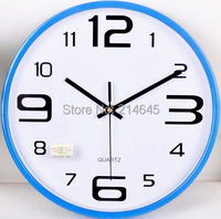 M30 12inch 30*30*4.5cm living room quartz wall clock quiet mute sweet movement good quality fast shipping