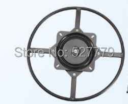Chair Base 360 Degrees Rotate Swivel Mechanism With A Big Ring K122(China (Mainland))
