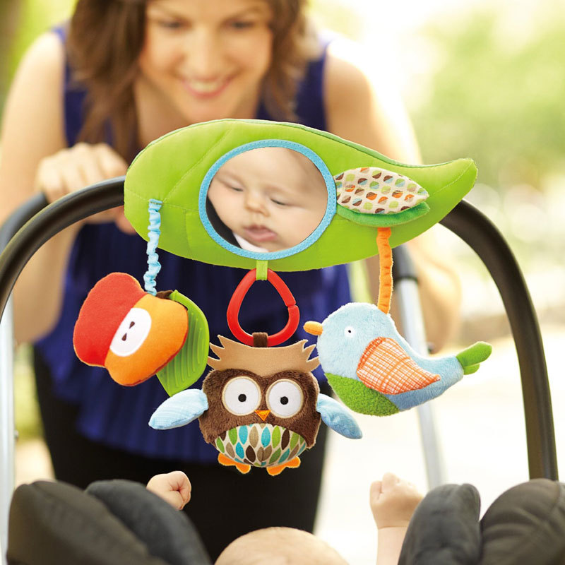 Гаджет  Baby products Souptoys magic mirror change Wind chime Juguetes Bebe Toys For Kids Funny Toy baby rattles baby toy strap plush None Игрушки и Хобби