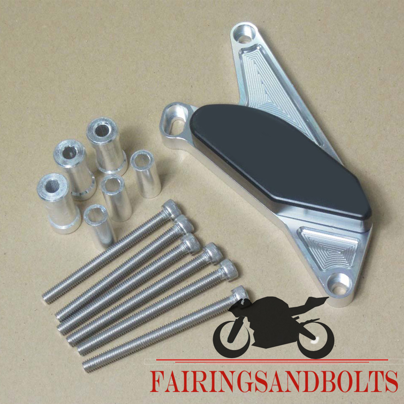 For SUZUKI GSXR1300 Hayabusa 1999-2007 Silver left Right Side Engine Stator Cover Slider Protector Motocycle Parts(China (Mainland))