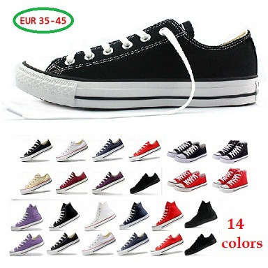 new canvas shoes sneakers unisex star flat sport shoes huarache men sneakers women sneakers all 14 color zapatillas deportivas(China (Mainland))