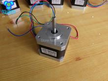 5 PCS Reprap Mendel 3d printer X Y Z E extruder stepper motor NEMA17 42BYGH4017P1