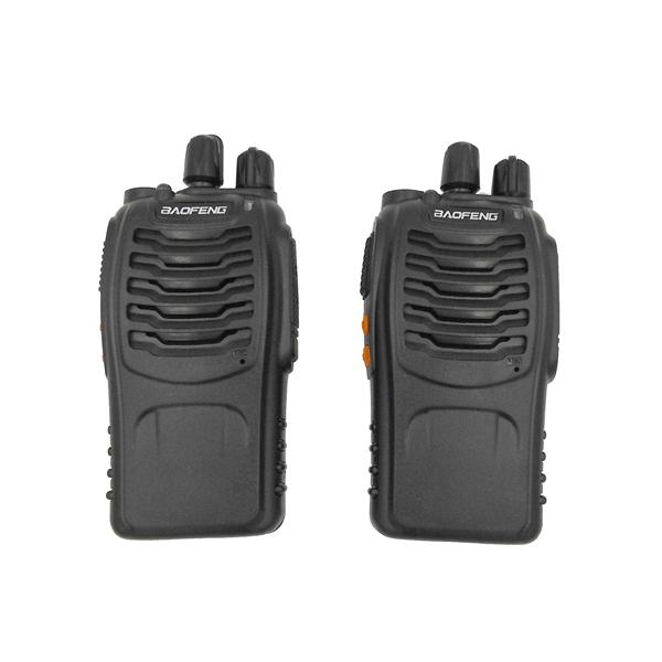 One pair BF-888S Walkie Talkie Transceiver UHF Intercom Two Way Radio Handheld cb Radio BF Baofeng 888s Walkie Talkie(China (Mainland))