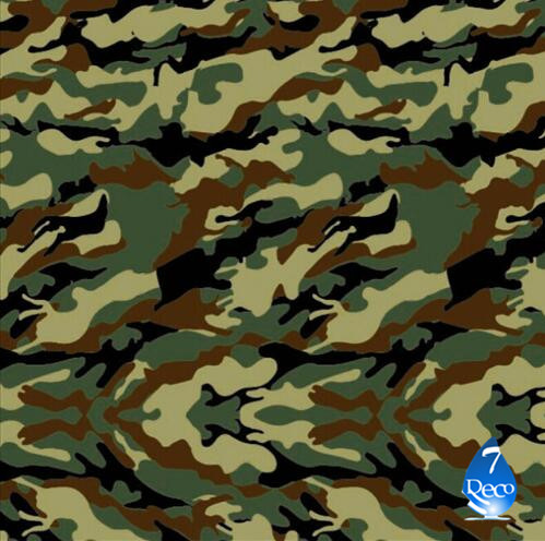 [Width 0.5M] Camouflage Military Hydro Dipping film Water Transfer Printing Film HC172-S, 0.5M*10M Hydrographic film,(China (Mainland))