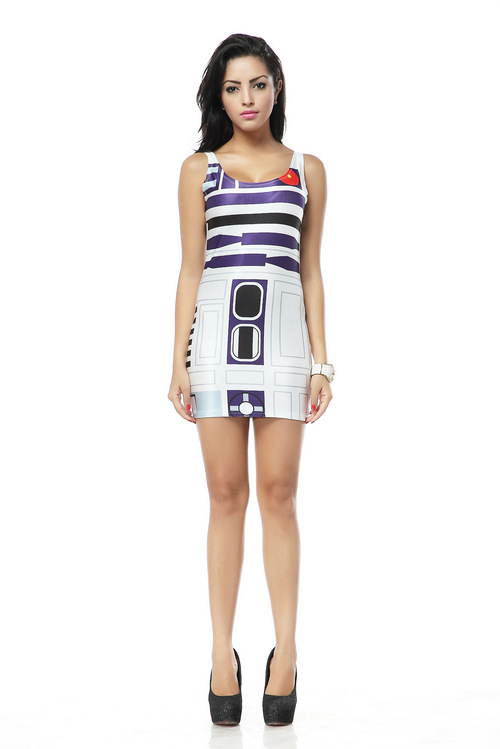 Original Find This Pin And More On Geeky  Fashion &amp Accessories Become A Droid This Halloween With Our Star Wars Costume Skater Dress! All You Gotta Do Is Shut Down All The Trash Compactors On The Detention Level The Star Wars Skater