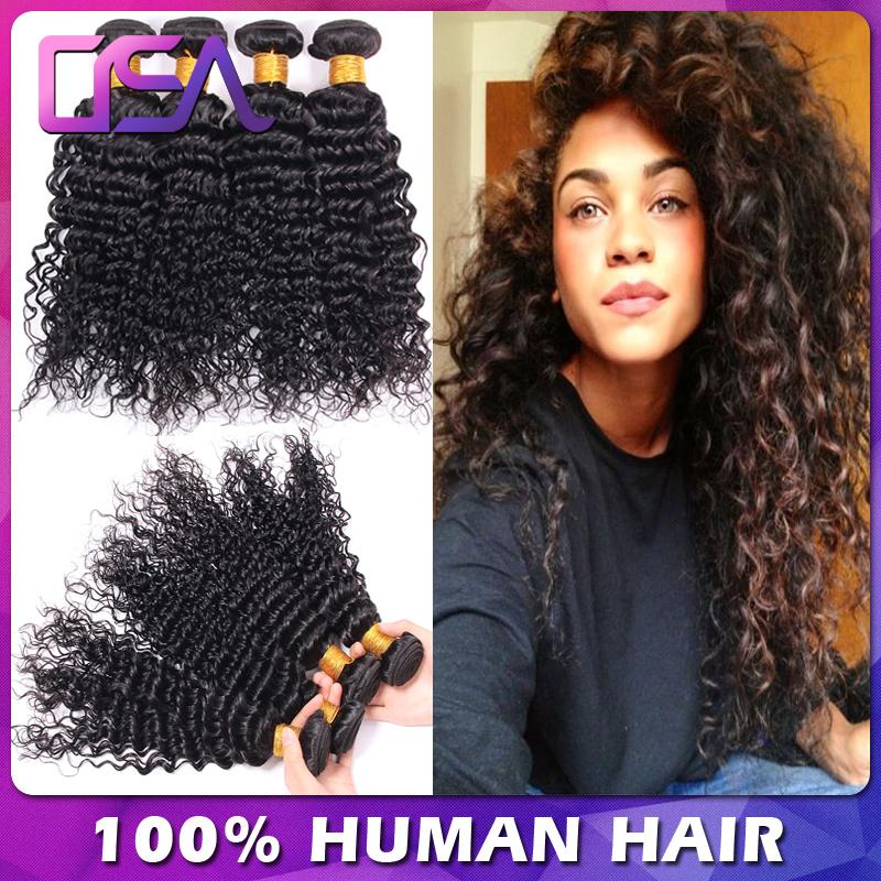 Cheap Malaysian Tight Curly Weave Virgin Hair Weave Bundles Deals Afro Curls Deep Wave Wet And Wavy Human Hair Modern Show Hair(China (Mainland))