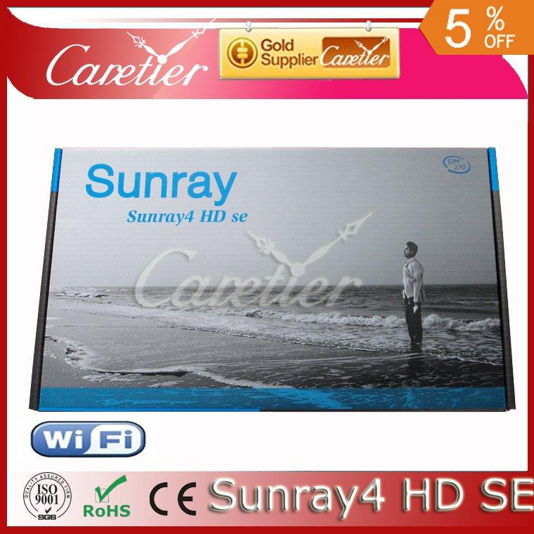 Sunray 800 se sr4 hd | DM800HD SE DM800SE | Sunray 800se HD satellite recevier with wifi 3 tuner 3in1(2pcs sr4)(China (Mainland))