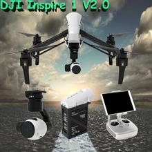 Newest DJI Inspire 1 V2.0 Rc Quadcopter Drone with 4K Camera and 3-Axis Gimbal UAV APP Support Quadcopter vs DJI Phantom 3