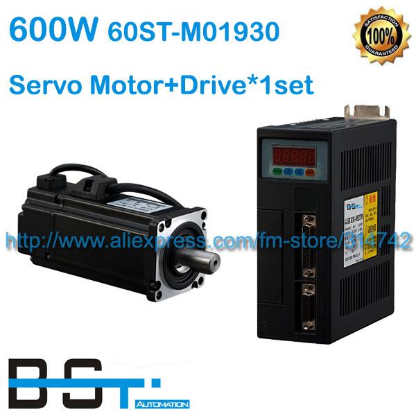 Buy 60st M01930 600w Ac Servo Motor 0 6kw