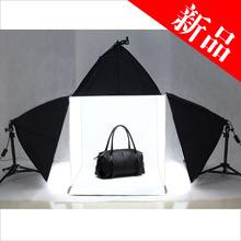 Photo Studio Light Tent Cube Soft Lighting Backdrop Kit In A Box60cm 3pcs softbox background photo box softbox kit studio box CP