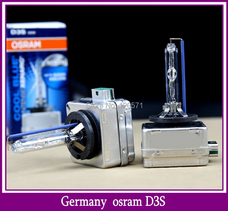 OSRAM D3S CBI 12V35W 66340 COOL BLUE INTENSE Xenarc Bi Xenon HID BULB 4300K 5000K Headlight Original Car Light Source(China (Mainland))
