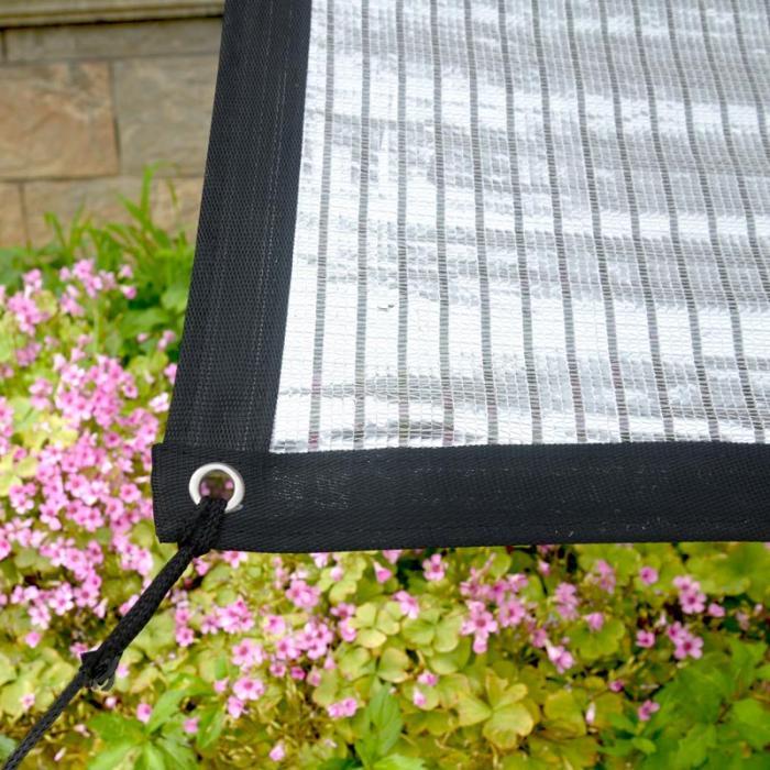 Крыша сад Защита от солнца УФ блок алюминиевая фольга тени теплоизоляция горячая