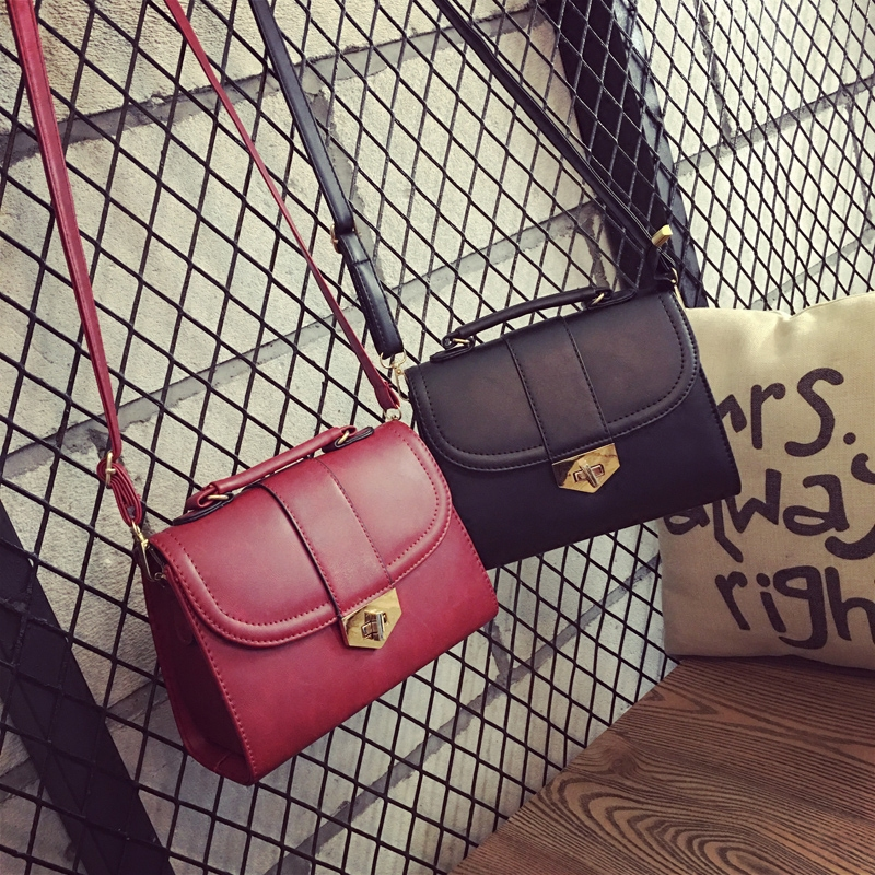 Retro women leather messenger bags for girls female small shoulder bag crossbody evening bags ladies 2S6304(China (Mainland))
