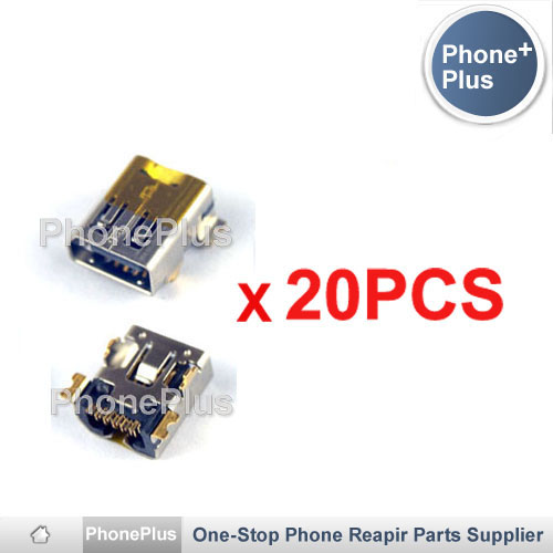 20PCS USB Charge Charging Dock Port Plug Connector Jack Replacement Part Free Shipping For HTC Dream G1 Magic G2 A6161 A6188(China (Mainland))
