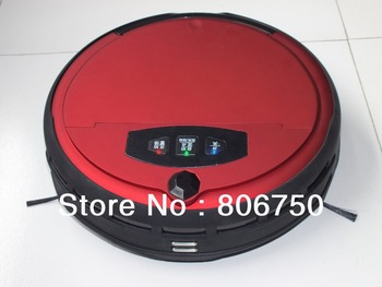 Free Shipping Wet And Dry Moping Intelligent Robot Vacuum Cleaner With Voice Function and Two Side Brush
