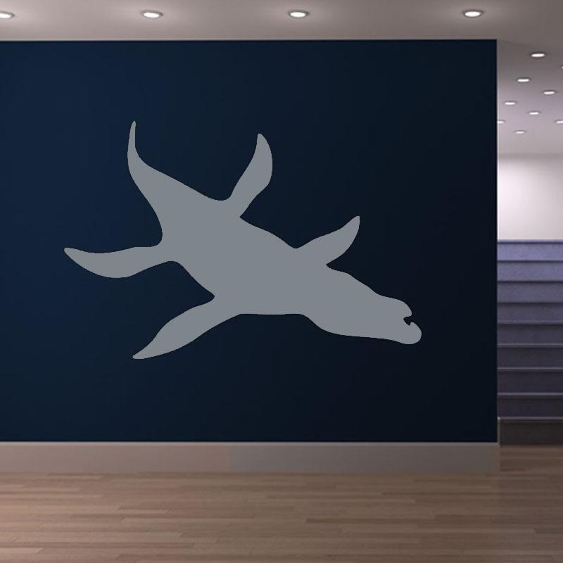 Cretácico período Elasmosaurus tatuajes de pared del vinilo Kids'Room dinosaurio etiqueta de la pared decoración para el hogar(China (Mainland))