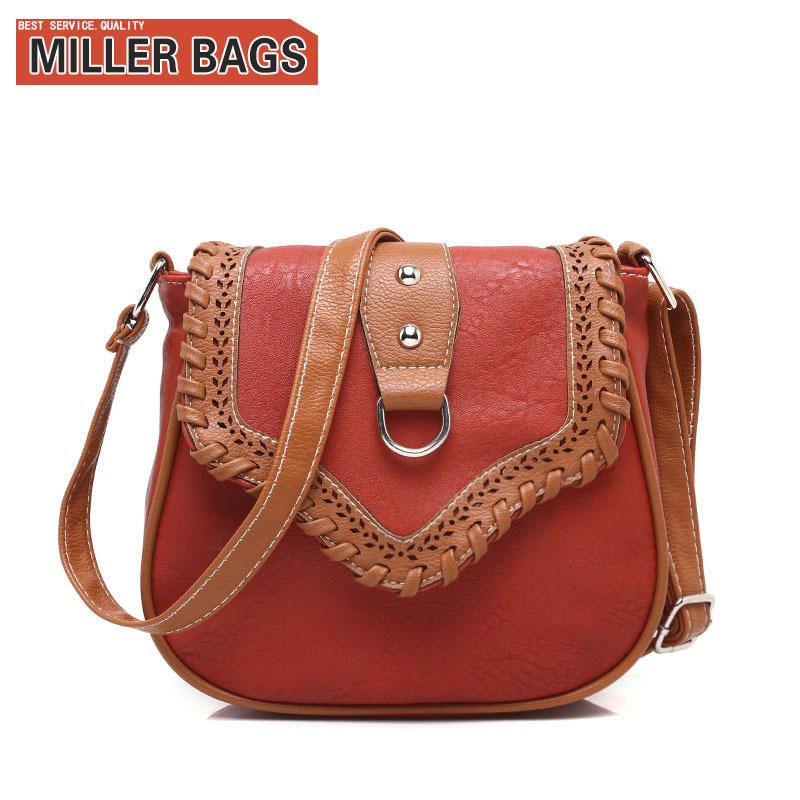 2015 Vintage Women bag Lady PU Leather Cross Body messenger Shoulder Bags Handbags Women Famous Brands sac a main Bolsa Feminina(China (Mainland))