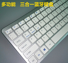 Selling30pcs/lot Universal Bluetooth Keyboard for Tablet for iPad Smartphone Android Laptop Promotion