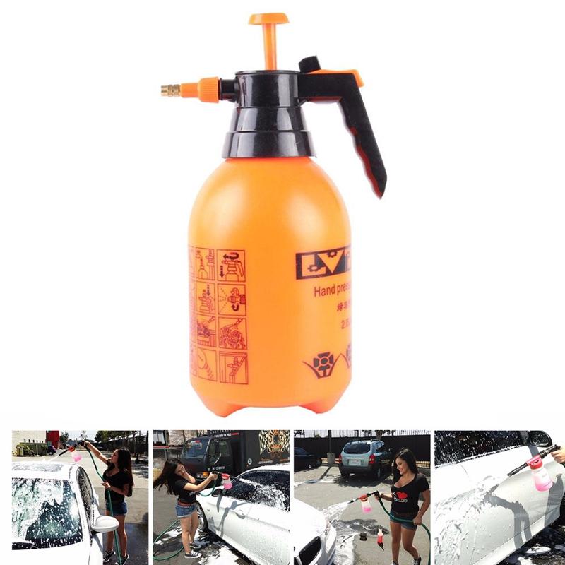 1.5 L Car Auto Washer Hand Pump Sprayer Bottle Pressurized Spray Bottle(China (Mainland))